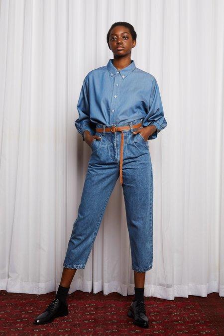 Salasai Romantics Shirt - Blue Denim Tencil