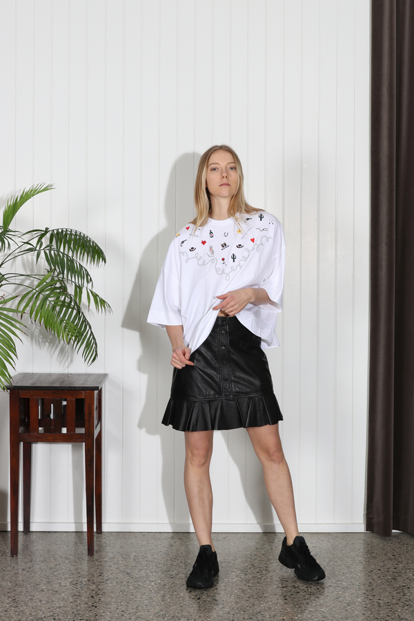 Ganni Rhinehart Skirt - Black
