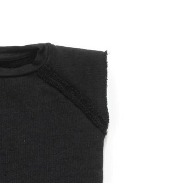 Kids Nununu Solid Sleeveless Bodysuit