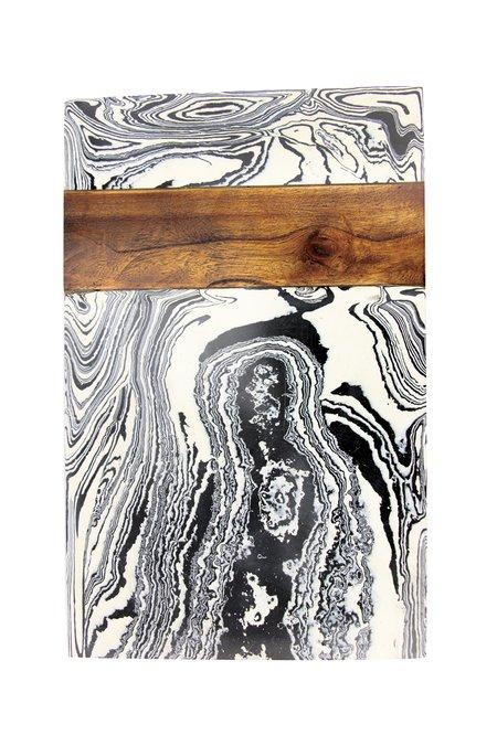 Be Home Marble Board - Zebra