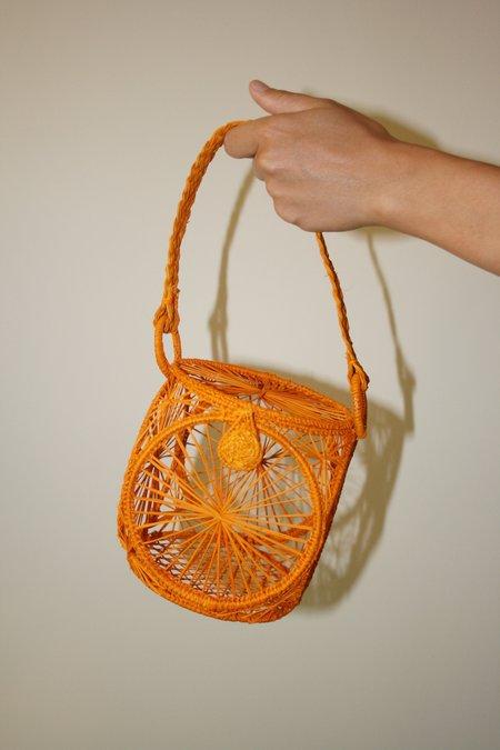 Kaanas Lorica Lantern Bag - Marigold Yellow