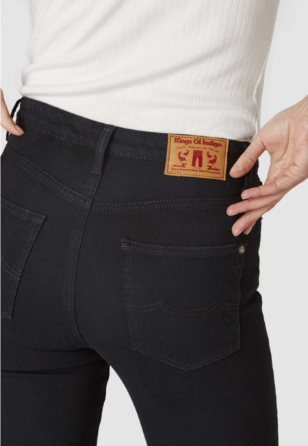 Kings Of Indigo Christina High Rise Super Skinny Jeans - Stay Black