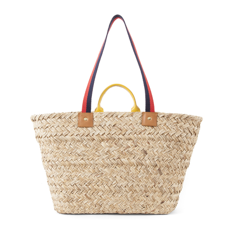 Clare V. Woven Le Big Sac in Natural