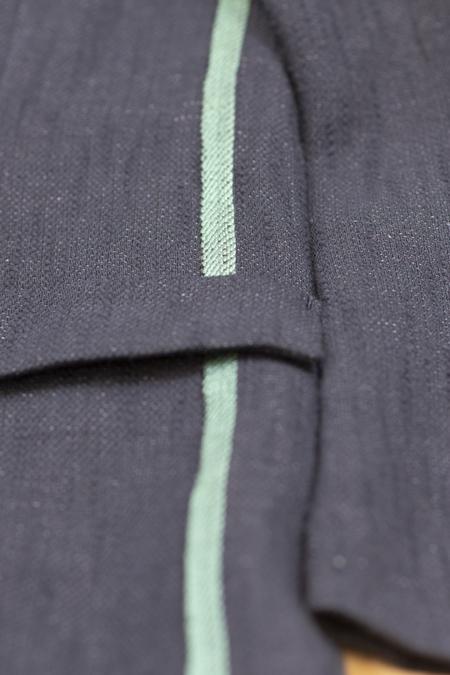TOMORROWLAND Fancy Tweed Casual Jacket - NAVY
