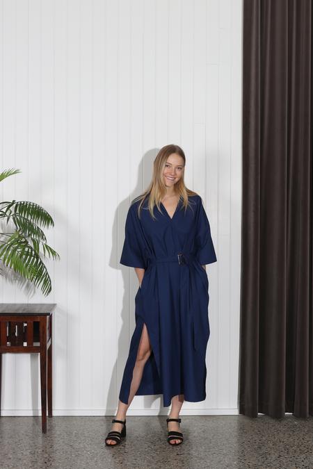Shaina Mote Avignon Dress - Lapis