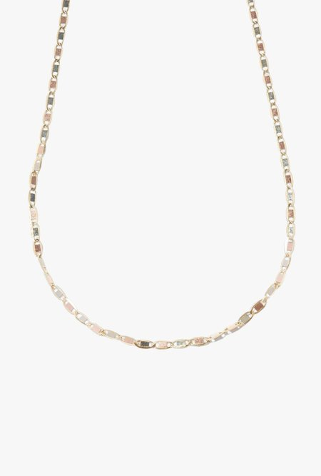 "Loren Stewart 16"" Valentino Chain Necklace - 10k Yellow Gold"