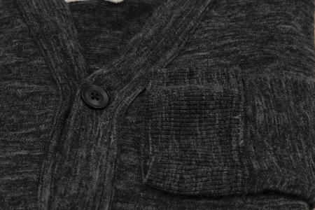 V :: ROOM Linen Ester Jersey Cardigan - Black