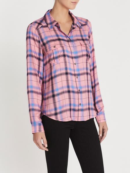 Paige Mya Shirt - Bright Pink Multi