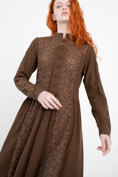 Visvim Lace Dress - Brown
