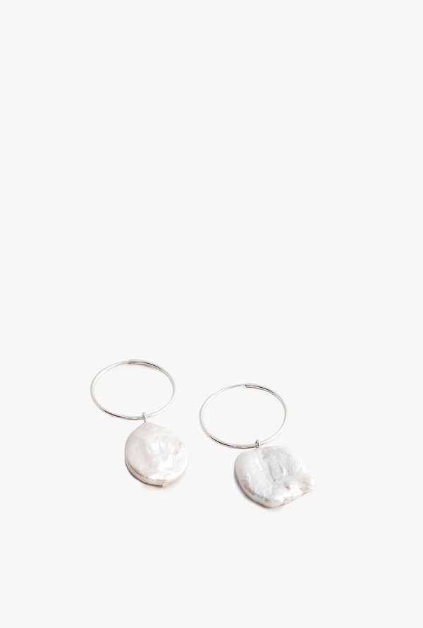 Wolf Circus Pearl Hoops