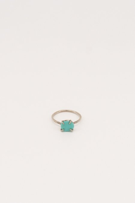 Melissa Joy Manning Ring - Sterling Silver/Turquoise
