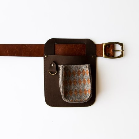 Out Leather & Felt Tool Holder