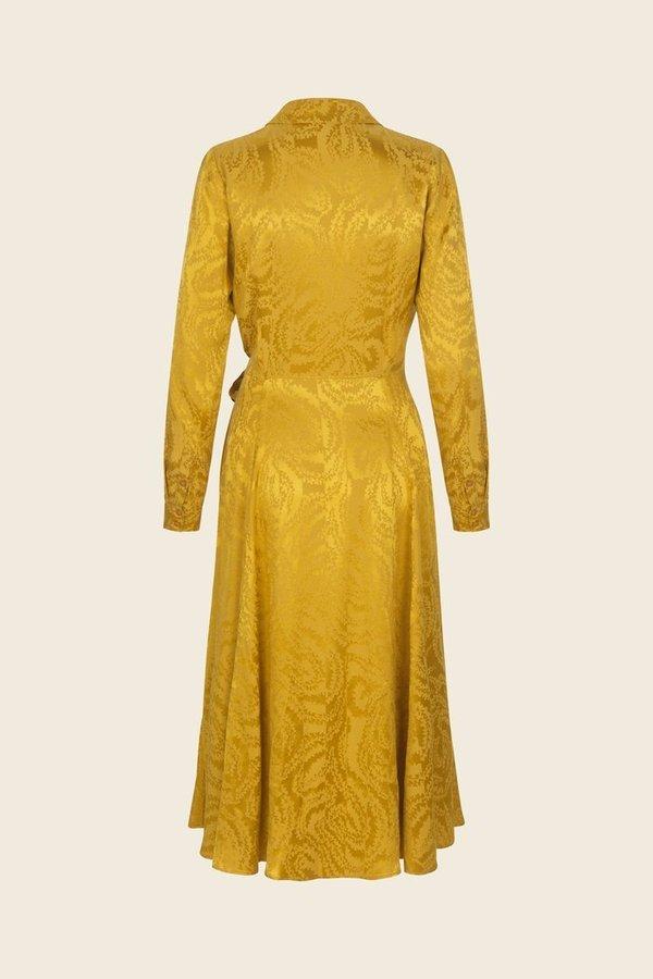 81a5d89a Stine Goya Baily Dress - Yellow Swirl | Garmentory