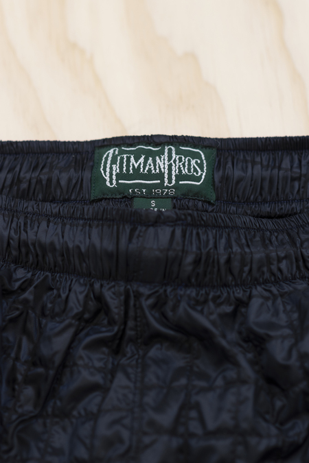 Gitman Bros. Windbreaker Boxers - Navy