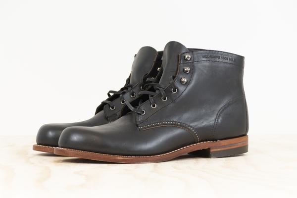 c9ad2387934 Wolverine 1000 Mile Boot - Black on Garmentory