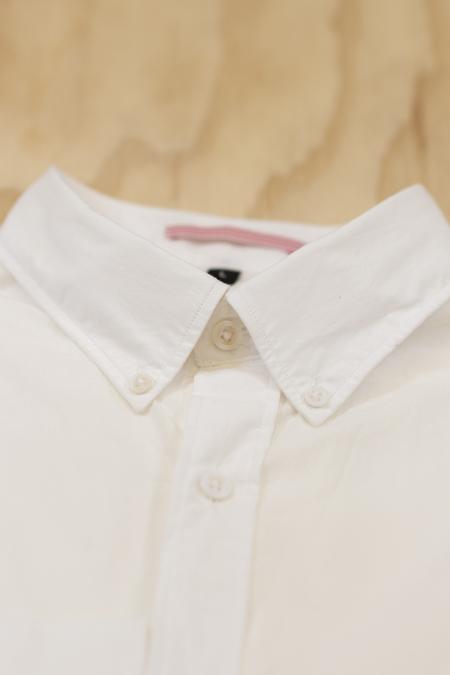 Apolis White Broadcloth Button Down Shirt