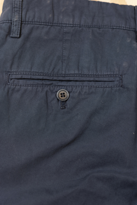 Aspesi Navy Long Trousers