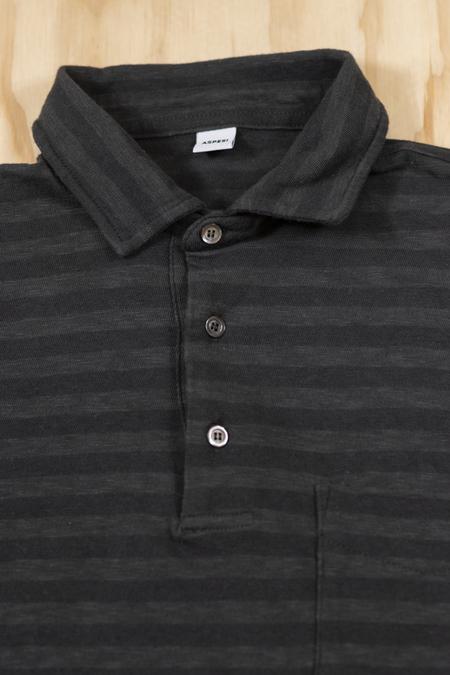 Aspesi Dark Olive Polo T-Shirt