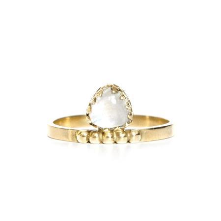 WELLDUNN Troie Ring - Gold