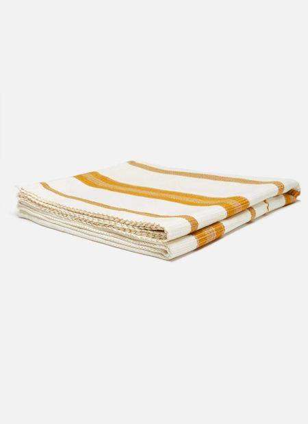 Heather Taylor Home Goldenrod Super Soft Throw Blanket - Marigold