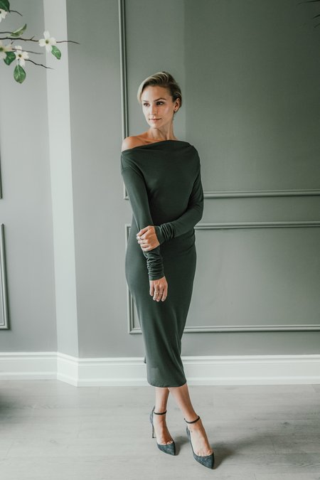 CLEMENTINE'S x MEROTTO Alexia Midi Dress