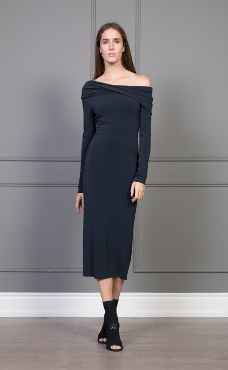 CLEMENTINE'S x MEROTTO Christina Dress - Anthracite