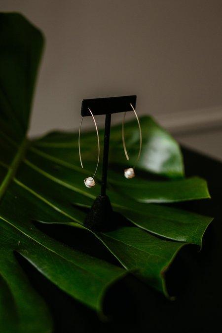 Cyntia Miglio Mini Wave Earrings