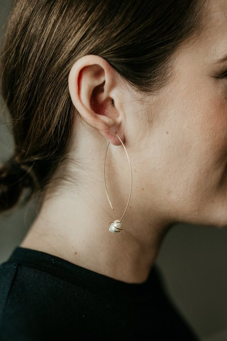 Cyntia Miglio Wave Earrings