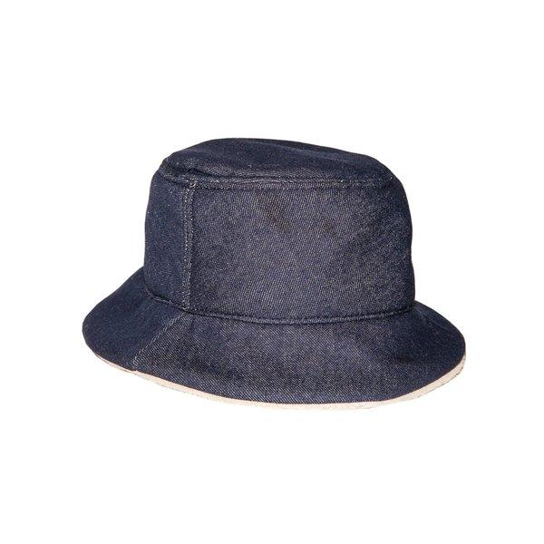 Krammer   Stoudt Denim Shearling Bucket Hat  b657acbf890