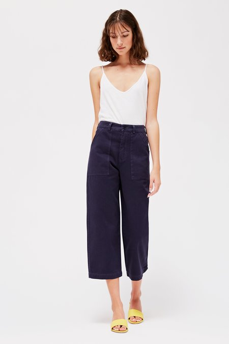 Lacausa Brushed Stella Trousers - Velvet