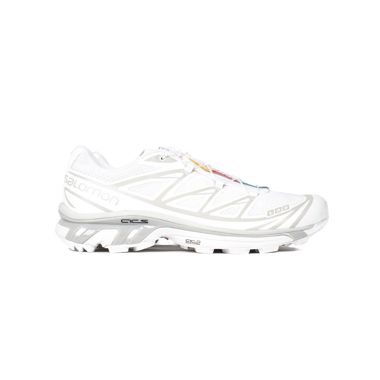 sports shoes abf30 6cbd3 SALOMON S/LAB XT-6 SOFTGROUND LT ADV SNEAKER - WHITE