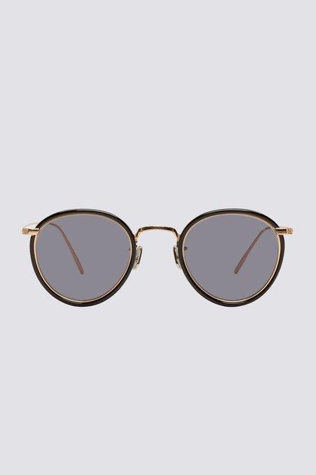 Eyevan 7285 Metal 717 Sunglasses - Black