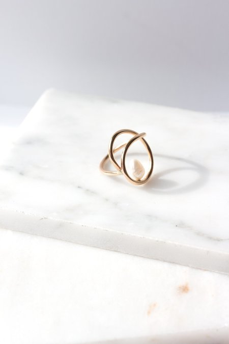 Laura Estrada Perla Ring - 14k gold filled