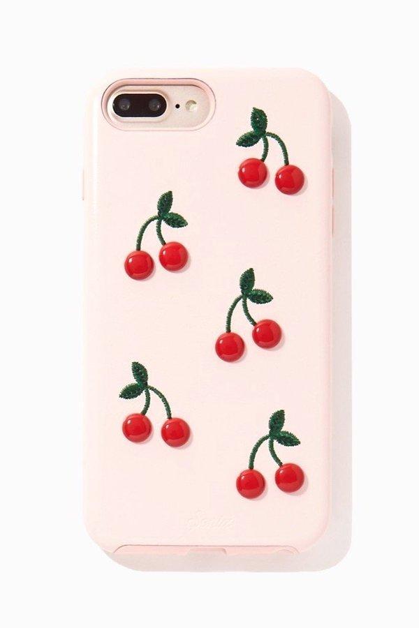 on sale 29149 05fc6 Sonix Patent iPhone Case - Cherry on Garmentory