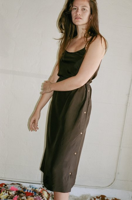 Baserange Sol Skirt - Carpet Brown
