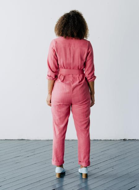 Seek Collective Andaz Romper - Rosa Twill