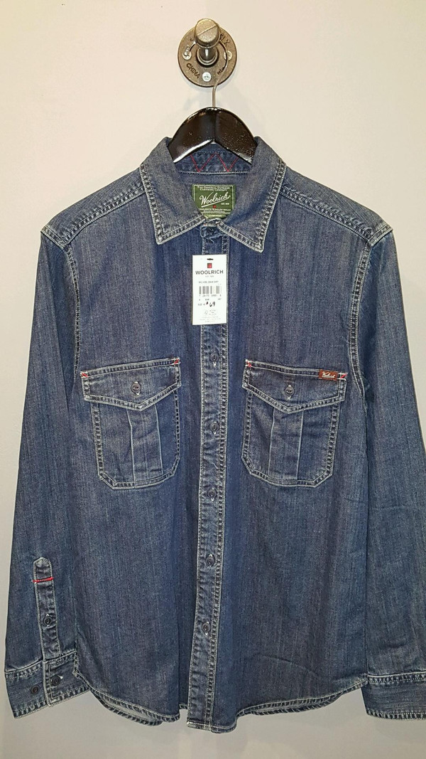 a9e1ee4a13 Men s Woolrich - Hemlock Denim Shirt. sold out