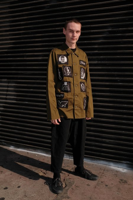 Kidill Horror Patch Military Shirt Jacket