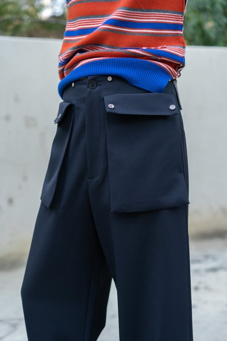 JW ANDERSON Large Pocket Wool Trousers