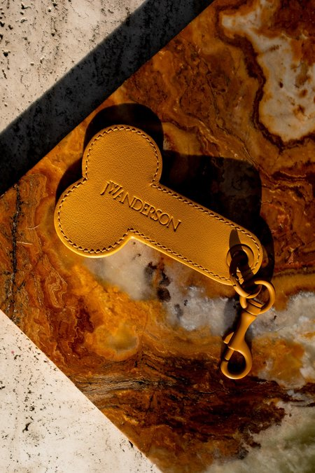 JW ANDERSON Penis Keychain - Maize