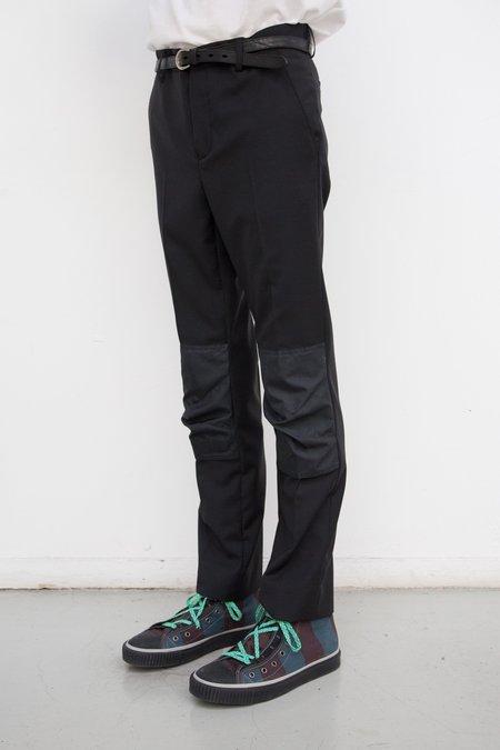 Lanvin Reinforced Knee Patch Slim Trouser