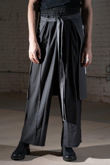 Komakino Wide Wool Tailored Trousers