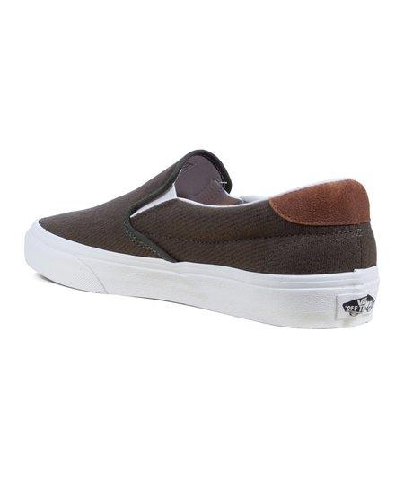 VANS UA Slip-On 59 Shoes - Olive