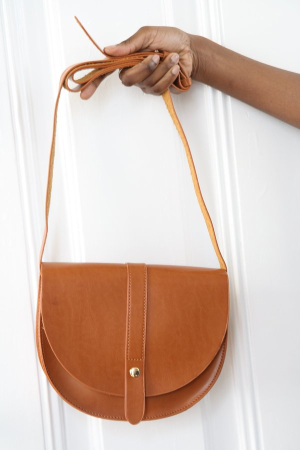 Bird on A WIRE Lou Satchel - Brown