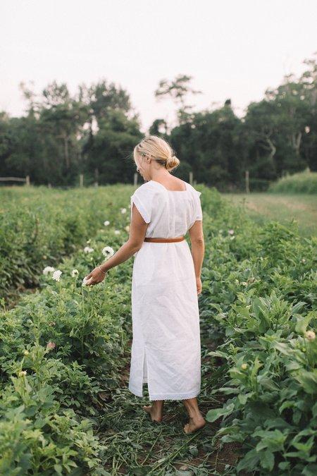 Conrado Lorena Kaftan Dress - White