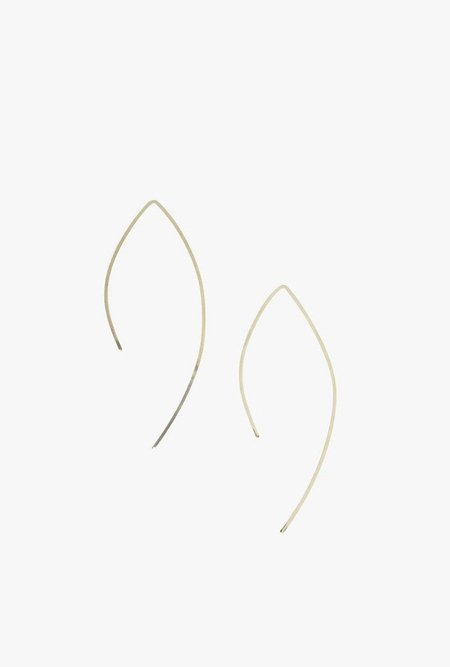 Circadian Studios Small Pull Thru Earrings - 14K Gold Fill