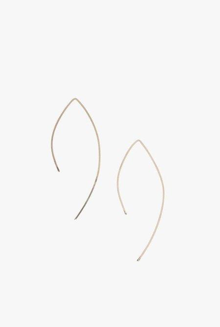 Circadian Studios Small Pull Thru Earrings - 14k Rose Gold Filled