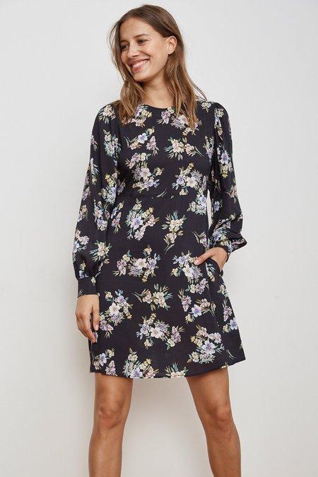 Velvet by Graham and Spencer WINOLA FLORAL PRINTED CHALLIS DRESS