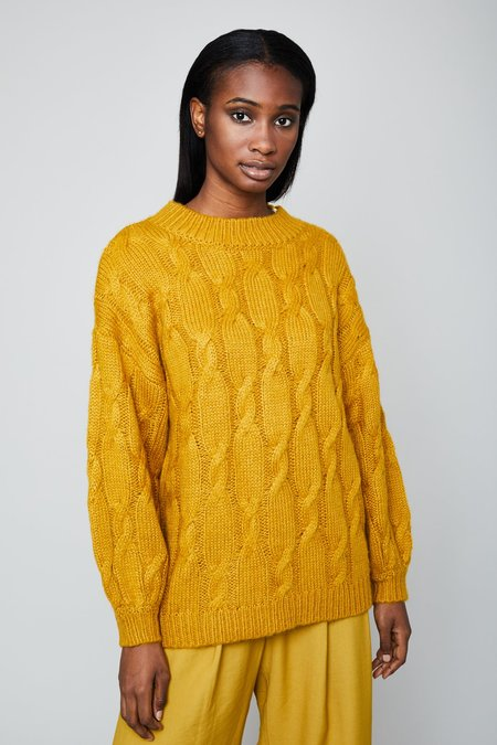 Native Youth The Eliza Jumper - Mustard