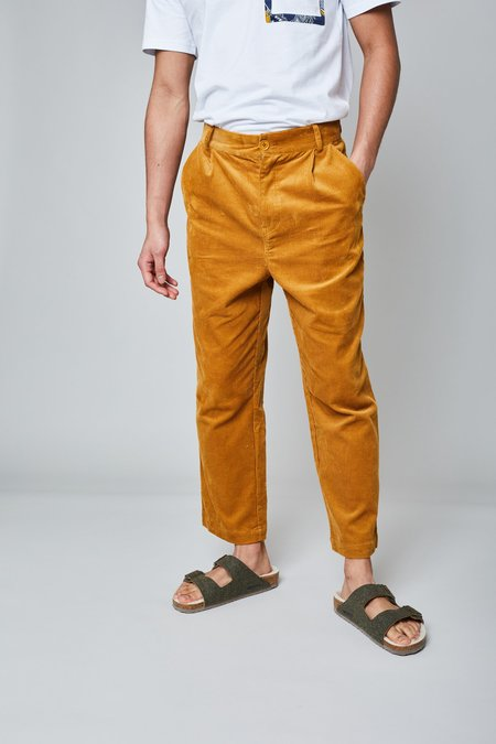 Native Youth The Newman Pant - Mustard